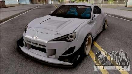 Toyota GT86 Uras GT для GTA San Andreas