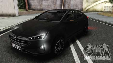 2019 Hyundai Elantra Exclusive для GTA San Andreas