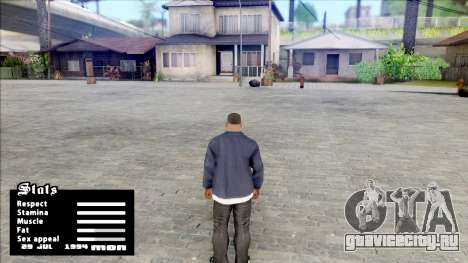 Date in Stats Menu для GTA San Andreas
