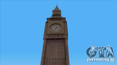 Improved Big Ben для GTA San Andreas