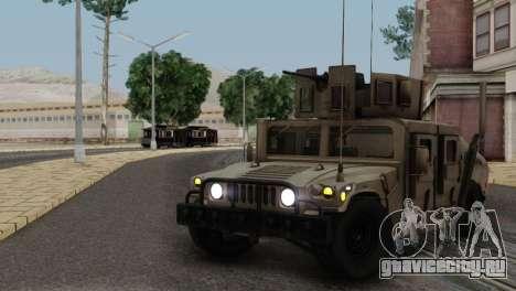 AM GENERAL HUMVEE M1151 IRAQ ARMY для GTA San Andreas