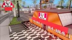 KFC in Los Santos для GTA San Andreas