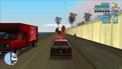 VC CAR INFO BY GMM96 - Speed & damage meter для GTA Vice City