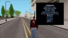 SA Interior Teleporter v2 для GTA San Andreas