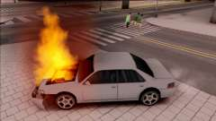 Peds Afraid of the Burning Car для GTA San Andreas
