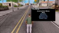 GTA Online Interaction Menu для GTA San Andreas