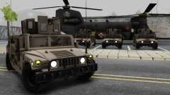 AM GENERAL HUMVEE M1151 IRAQ ARMY для GTA San Andreas