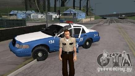Rick Grimmes Sheriff для GTA San Andreas