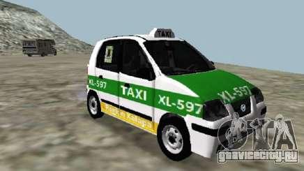 Hyundai Atos Taxi Xalapa для GTA San Andreas