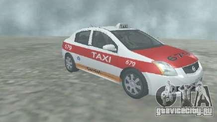 Nissan Sentra Taxi Cardel для GTA San Andreas