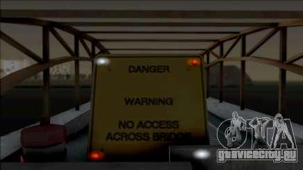 Lighted Barriers для GTA San Andreas