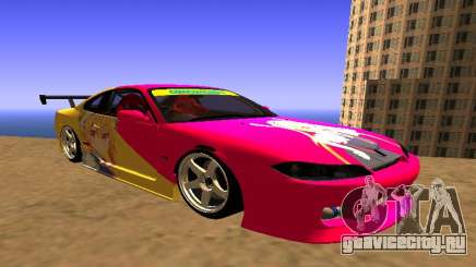 Nissan Silvia S15 Tohru Itasha для GTA San Andreas