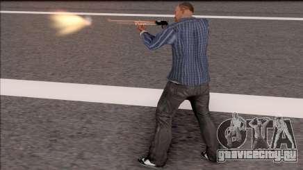 Rifle Gunflash Fix для GTA San Andreas