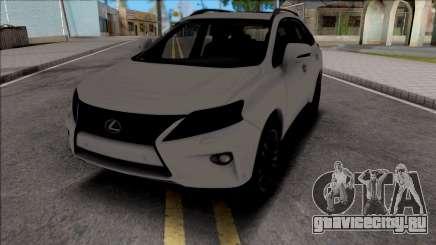 Lexus RX350 2014 для GTA San Andreas
