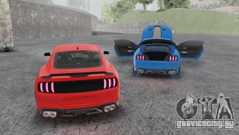 Ford Mustang Mach 1 2020 для GTA San Andreas