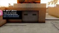 Garage Bomb Changer для GTA San Andreas