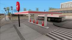 Flying A Gas Station для GTA San Andreas