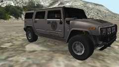 Hummer H2 CSI:Miami для GTA San Andreas