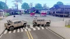 Protect Grove Street v1 для GTA San Andreas
