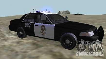 Ford CrownPolicia Federal de Caminos MX для GTA San Andreas
