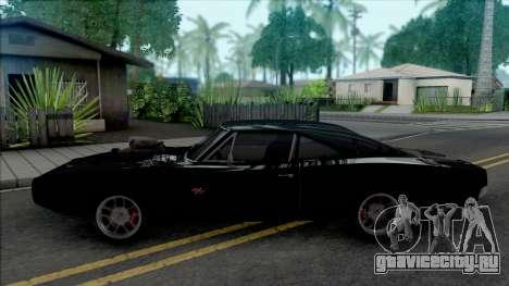 Dodge Charger RT Furious 7 (SA Lights) для GTA San Andreas