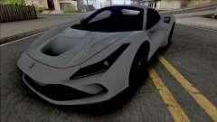 Ferrari F8 Spider 2021 для GTA San Andreas