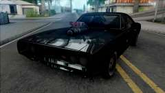 Dodge Charger RT Furious 7 (SA lights) для GTA San Andreas