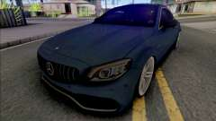 Mercedes-AMG C63s Coupe 2021 для GTA San Andreas