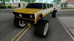 Monster A Lifted Truck для GTA San Andreas