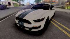 Ford Mustang Shelby GT350R (SA Lights) для GTA San Andreas