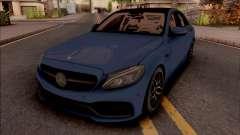 Mercedes-AMG C63S W205 для GTA San Andreas