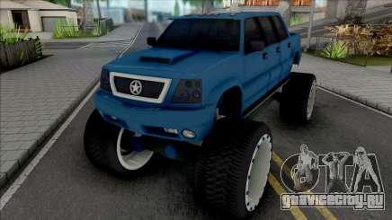 Cavalcade FXT Lifted Truck для GTA San Andreas