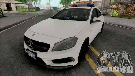 Mercedes-Benz A45 AMG 2012 Hungarian Police Car для GTA San Andreas