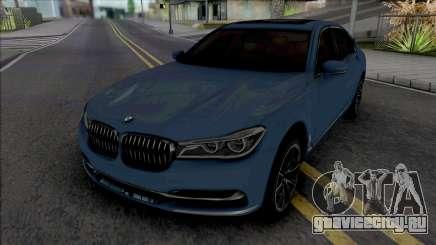 BMW 750Li 2016 для GTA San Andreas