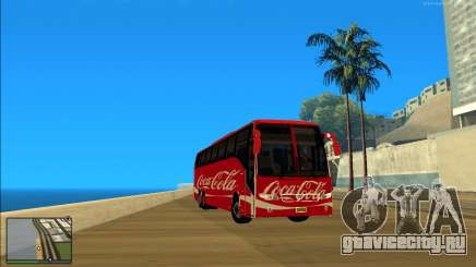 Coca Cola Volvo Bus Mod для GTA San Andreas