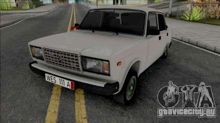 ВАЗ 2107 Kortec Style Azelow для GTA San Andreas