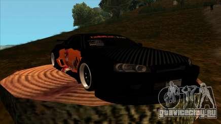 Nissan Skyline GT-R R34 - Tet (No Game No Life) для GTA San Andreas