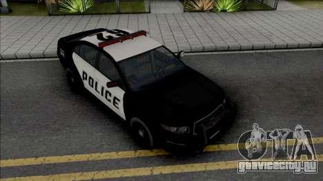 GTA V Vapid Interceptor [VehFuncs] для GTA San Andreas