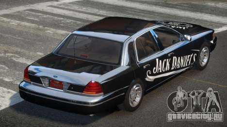 Ford Crown Victoria 90S L9 для GTA 4