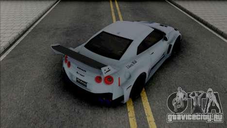 Nissan GT-R R35 LB Silhouette Works для GTA San Andreas
