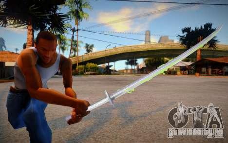 New Katana - Bakusaiga для GTA San Andreas