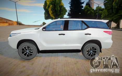 Toyota For SW4 2017 для GTA San Andreas
