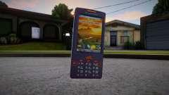 Sony Ericsson W950i для GTA San Andreas