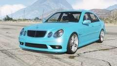 Mercedes-Benz E 55 AMG (W211) 2002 v1.2〡add-on для GTA 5