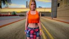 DOA6 Tina Armstrong Costume 5 для GTA San Andreas