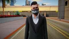 Gta Online Skin With Bigness Mask