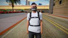 Skin Random from GTA ONLINE With Parachute для GTA San Andreas