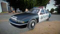 Chevrolet Caprice 1992 (SFPD) - Improved для GTA San Andreas