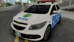 Chevrolet Onix PMGO для GTA San Andreas