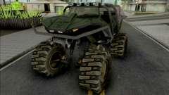 GTA Halo MonsterHog GGM Conversion для GTA San Andreas